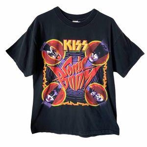 Kiss Sonic Boom Vintage T-shirt
